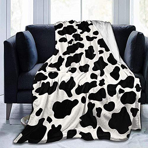 Eileen Powell Estampado Vaca 2 Manta vellón Manta