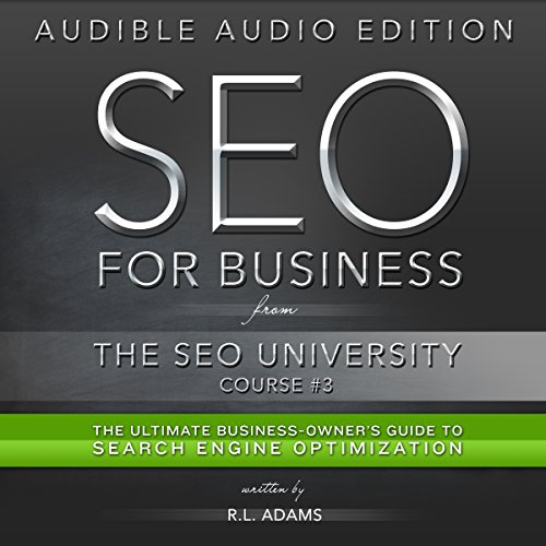 SEO for Business audiobook cover art