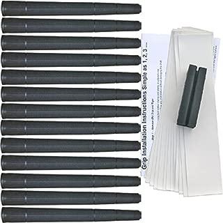 Tacki-Mac Arthritic Serrated Oversize (+3/32) Golf Grip Kit (13 Grips, Tape, Clamp)
