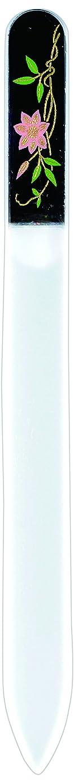 つかむ空酸度橋本漆芸 ブラジェク製高級爪ヤスリ 六月 鉄仙 紙箱