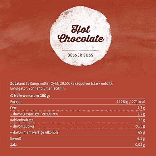 Xucker Trink-Schokolade nur mit Xylit 750 g - 7