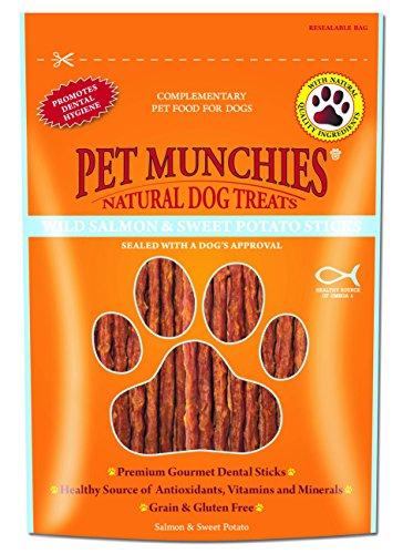 Pet Munchies - Snacks naturales de carne para perros (8 Paquetes) (8...