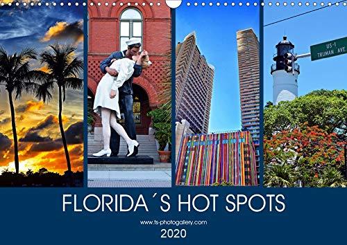 Florida Spots II (Wandkalender 2020 DIN A3 quer): Orte, die man gesehen haben muß in Florida (Monatskalender, 14 Seiten ) (CALVENDO Orte)