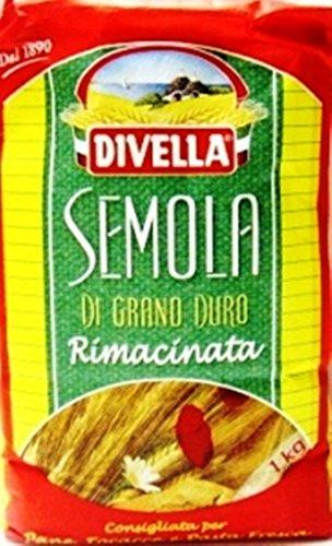 Hartweizengrieß - Semola di Grano Duro Rimacinata - 6x 1000 g