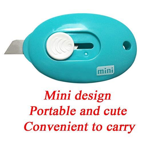 RJWKAZ Mini Utility Knives Box Cutter