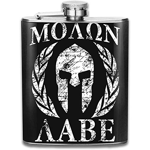Mens Moaon Aabe Edelstahl Flagon Outdoor Flagon mit auslaufsicherem Flagon