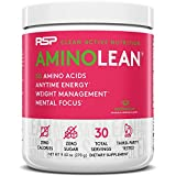 RSP AminoLean - All-in-One Pre Workout, Amino Energy, Weight Management Supplement with Amino Acids, Complete Preworkout Energy for Men & Women, Watermelon, 30 (Packaging May Vary)