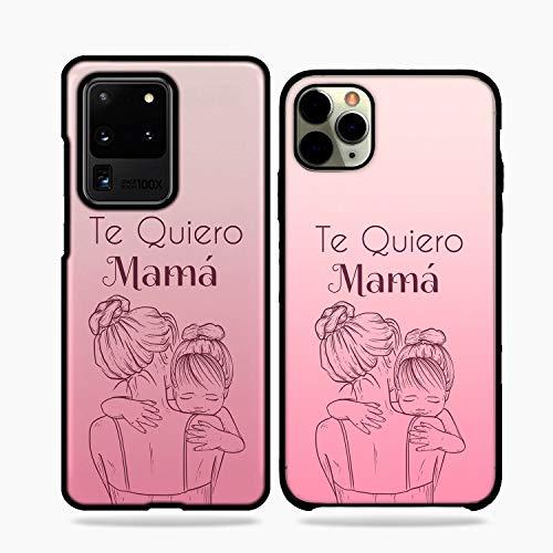 Fundas De Moviles Carcasas De Moviles Funda Carcasa Modelo Diseño Dia de la Madre te Quiero Mama Compatible con iPhone 6s Plus