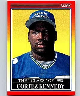 1990 Score #616 Cortez Kennedy Seahawks