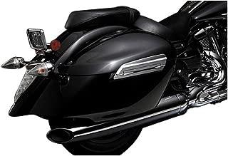 yamaha hard leather saddlebags
