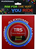 アレックスリム(ALEXRIMS) 自転車ホイールパーツ チューブレスレディキット テープ幅22mm リムテープ2本 バルブ2個 862121