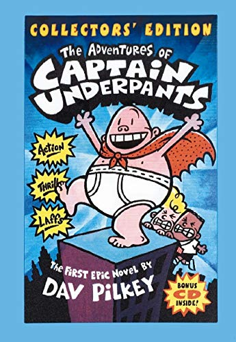 The Adventures of Captain Underpants (Collectors' Edition with Bonus CD Included)