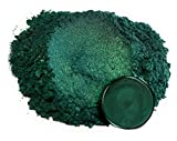 "Mica Powder Pigment ""Dark Ocean Green"" (50g) Multipurpose DIY Arts and Crafts Additive 