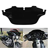 INNOGLOW Motorcycle Windscreen Windshield 6 inches Fits for Harley Electra Street Glide Touring Bike 1996-2013 Black