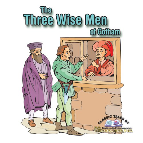 The Three Wise Men of Gotham audiobook cover art