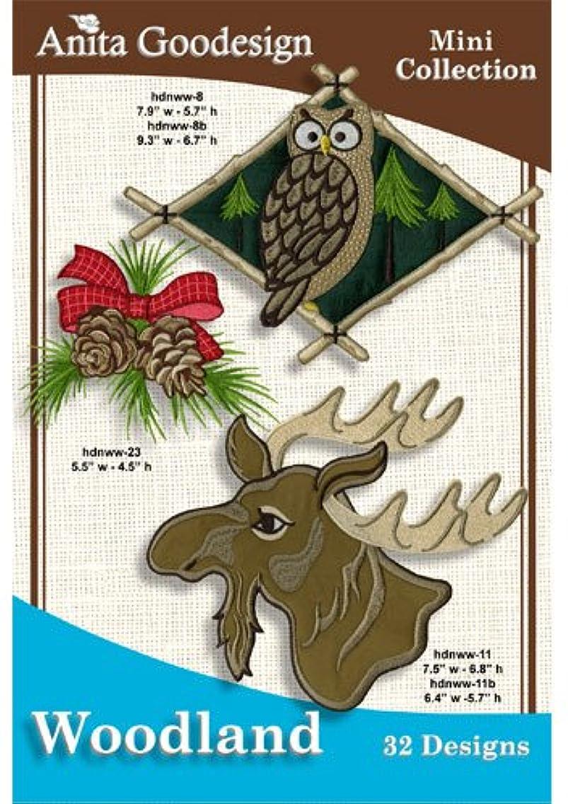 Anita Goodesign Woodland Embroidery Designs