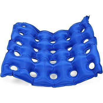 Galapara 介護用品 床ずれ防止用具 エアークッション 穴あき座布団カバー