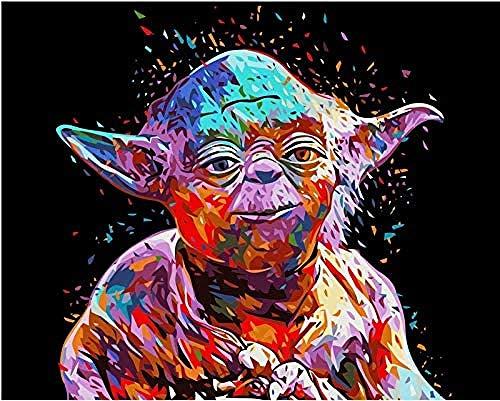YCMXMY Puzzle 1500 Piezas, Nuevo Maestro De Star Wars Yoda, Personalizado De Madera Montaje Rompecabezas Divertido, 87X56Cm