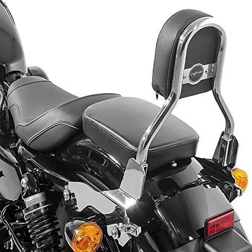 Sissy Bar Abnehmbar Ohio CL für Harley Sportster 1200 T Superlow 14-20 Edelstahl
