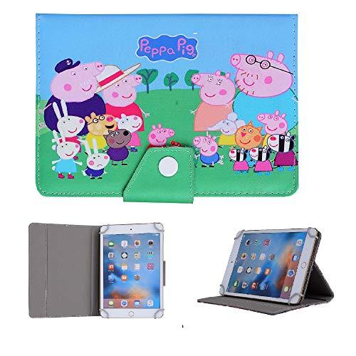 Disney - Funda para tablet para Samsung Galaxy Tab S2 de 8 pulgadas T710 T713 T715 T719 (familia Peppa Pig)