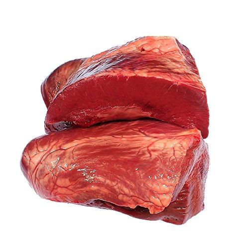 Rinderherz, schlachtfrisch, ohne Kranzfett, 2.500 g