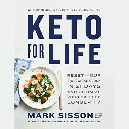 Keto for Life audiobook cover art