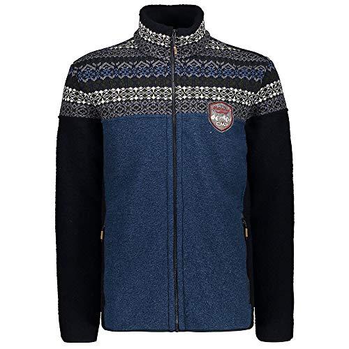 CMP Veste en laine pour homme. - Bleu - 58