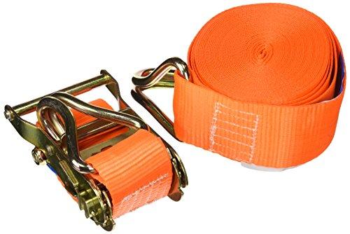 Perel ARAT5 Spanngurt mit Ratsche Und Haken, Maximal Last: 1000 kg, 9 m x 50 mm Abmessungen