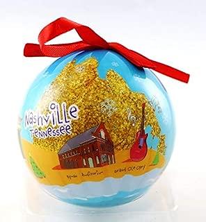 Nashville Tennessee Souvenir Collectible Christmas Ball Ornament