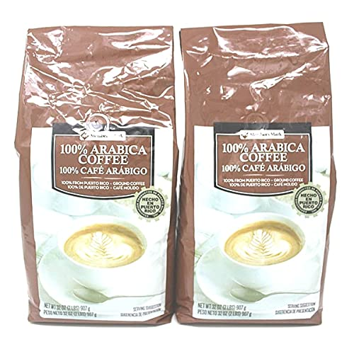 Member's Mark Ground 100% Puerto Rican Coffee (2 lb.) - 2 pack