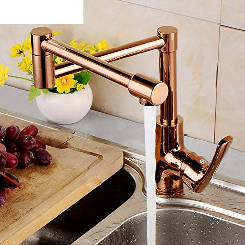 360 ° drehbarer Wasserhahn Retro Wasserhahn Wasserhahn mit heier und kalter Spüle Wasserhahn Wasserhahn