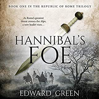 Hannibal's Foe audiobook cover art
