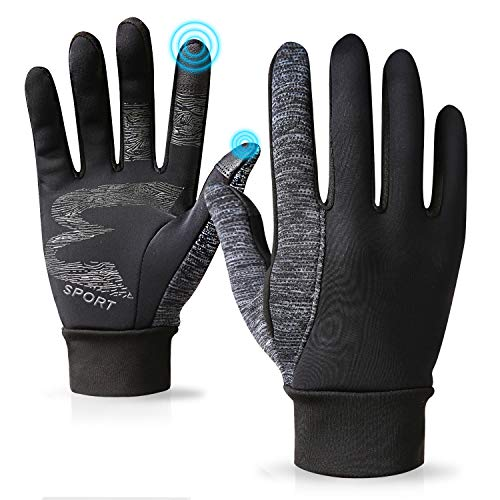 Handschuhe Herren Damen Winter Touch Screen Fahrrad Wandern Laufen Outdoor Anti-Rutsch