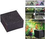 THTH Cubo de purificador de Agua de Acuario ecológico, Material de Filtro de Tanque de Peces de purificación de Agua de Panal, Cubo de purificación de Agua Nano de carbón Activado (10 * 10 * 5cm)