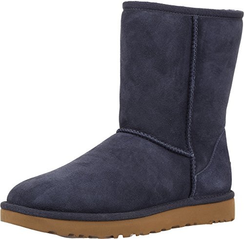 UGG Female Classic Short II Classic Boot, Navy, 9 (UK)