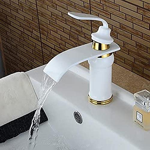 Grifo American Standard Juego Central Monomando Un Orificio En Pintura Grifo Para Lavabo De Baño
