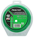 "Rino Tuff 16216A .08"" x 175' Universal Spiral Twisted 7 Pointed Light Duty Trimmer Line"