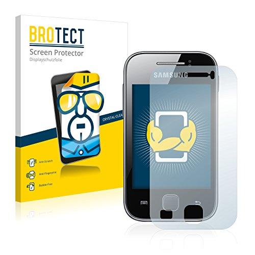 brotect Pellicola Protettiva Compatibile con Samsung GT-S5369 Pellicola Trasparente (2 Pezzi) Anti-Impronte