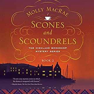 Scones and Scoundrels audiobook cover art