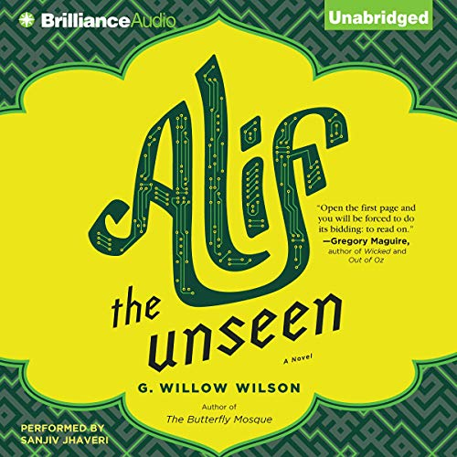 Alif the Unseen audiobook cover art