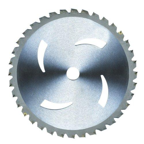 Disque de débroussailleuse Lame en acier 36 dents Diamètre 255 mm