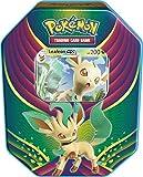 Pokemon TCG: 2018 Fall Evolution Celebration Tin- Leafeon-Gx | A Foil Gx Card