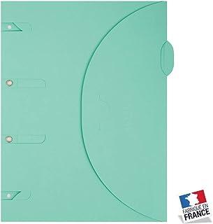 Smartfolder Vert - Pack de 100 Pochettes de Rangement - format A4
