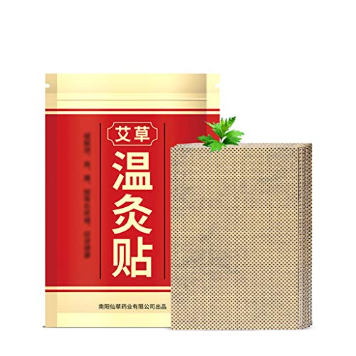 MAZE MA 20 Stück/Beutel natürliche Moxa-Moxibustion-Pflaster zur Schmerzlinderung von Wundpflastern, selbstklebend, für Nacken, Schulter, Taille, Bein, Körper, Gesundheitspflege