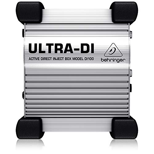 Behringer ULTRA-DI DI100 Caja activa de inyección directa