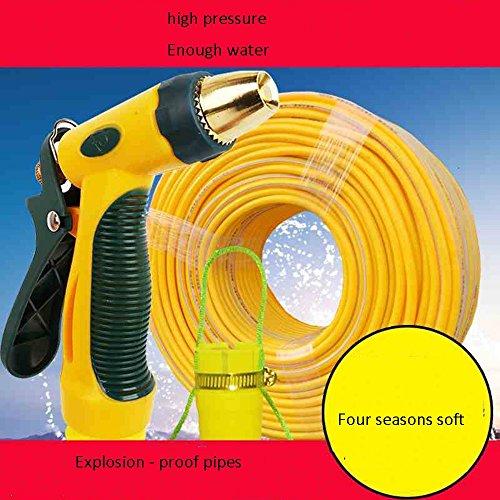 Télescopique Combinaison de pistolet à eau de lavage de voiture Accueil brosse à haute pression lavage de voiture outils de prise d'eau Arrosage de lavage de voiture ensemble de tuyau de tuyau d'eau r