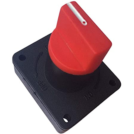 Magideal 100a Batterieschalter Hauptschalter Batterietrennschalter Für Autoboots Auto