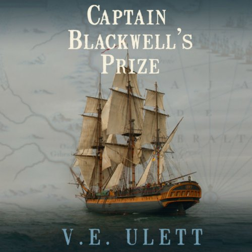 Captain Blackwell's Prize audiobook cover art