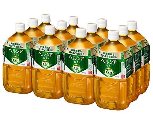 [トクホ] ヘルシア緑茶 1050ml ×12本