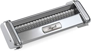 Marcato Bigoli Cutter Attachment, Made in Italy, Works with Atlas Pasta Machine 150, Silver